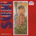 CD Suk - Complete Chamber Works, Vol.3. / Josef Suk, Jitka Novakova violin