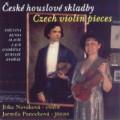 CD Czech Violin Pieces (Smetana, Benda, Slavik, Laub, Ondricek, Kubelik, Dvorak) / Jitka Novakova violin, Jarmila Panochova piano