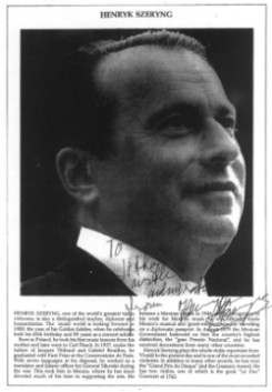 houslista Henryk Szeryng